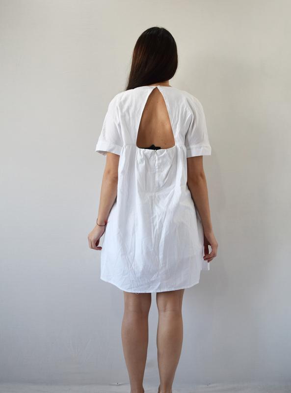 Платье с вышивкой - Фото 4