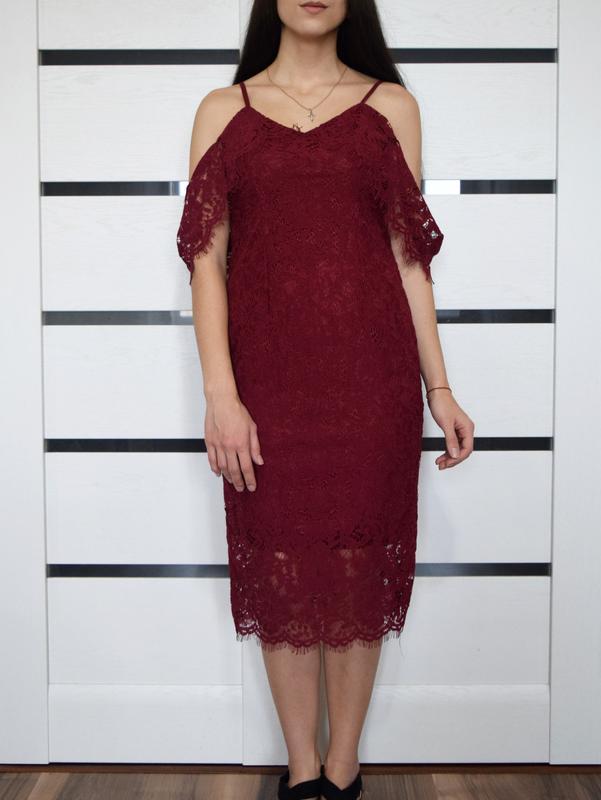 Кружевное платье boohoo (новое, с биркой) - Фото 2
