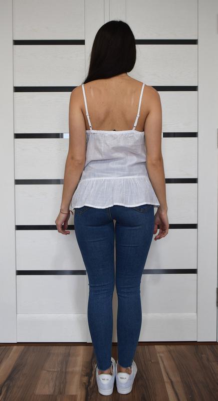 Блуза с вышивкой f&f - Фото 3