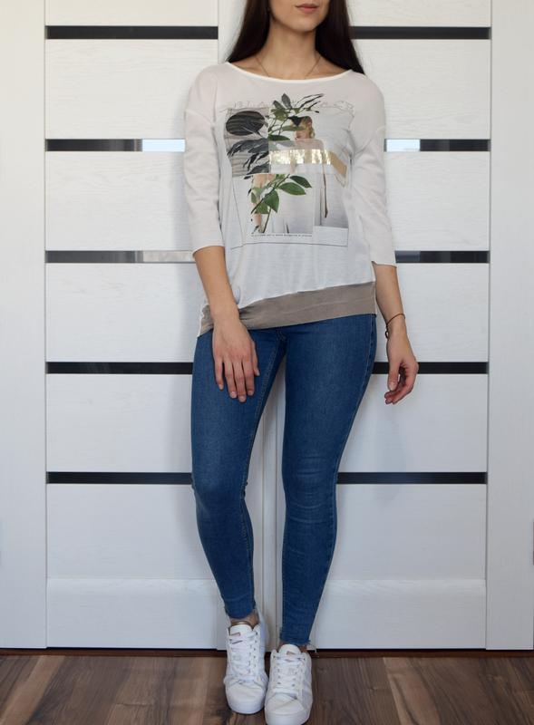 Блуза zara - Фото 2