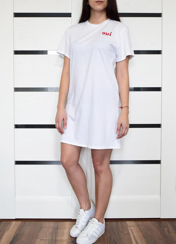 Платье-футболка (новая. с биркой) pritty little thing - Фото 2
