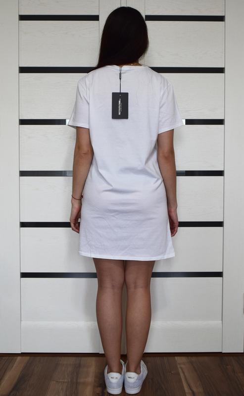 Платье-футболка (новая. с биркой) pritty little thing - Фото 3