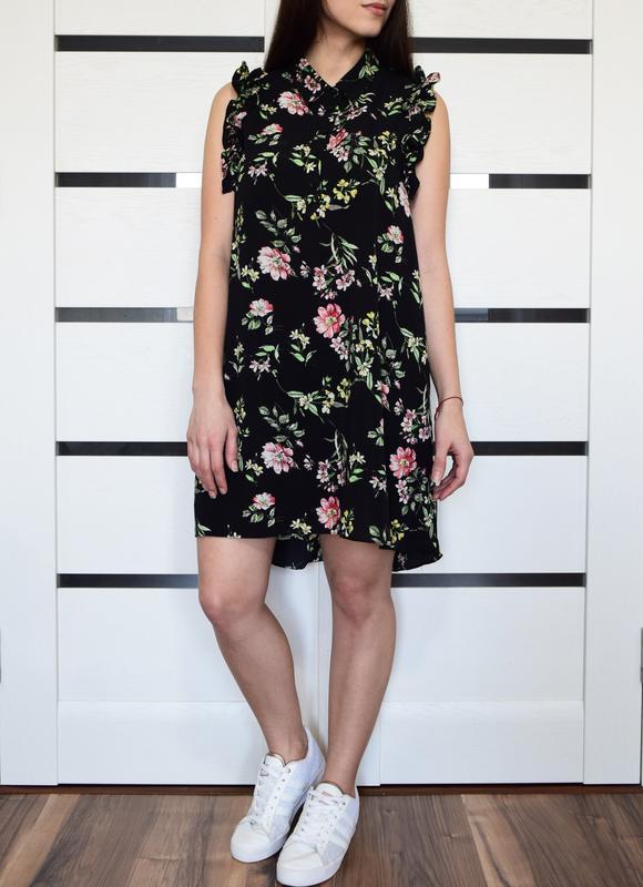 Платье в цветы flamant rose - Фото 2