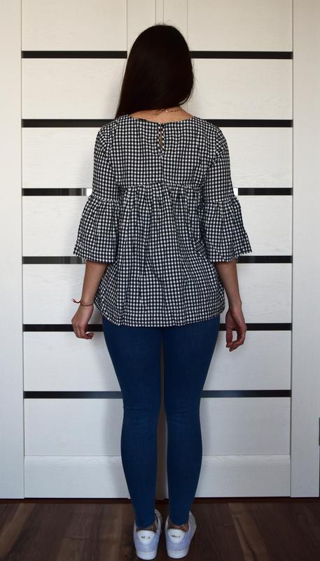 Блузка с вышивкой tu - Фото 3