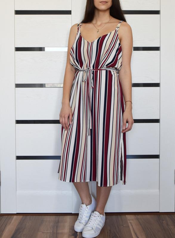 Платье в полоску new look - Фото 2