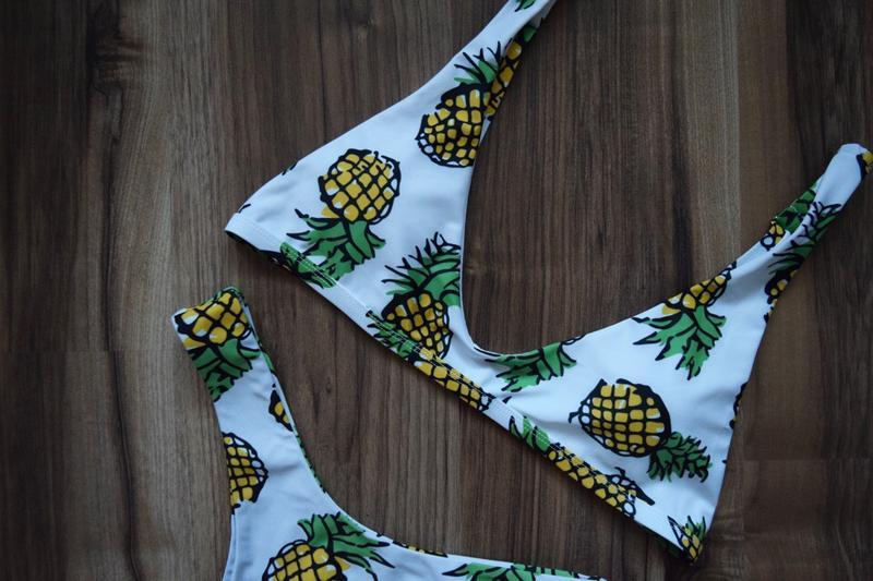 Купальник в ананасы - Фото 3