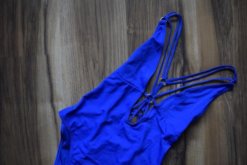 Купальник с переплетом на груди и спинке new look - Фото 2