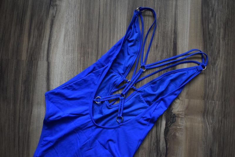 Купальник с переплетом на груди и спинке new look - Фото 5