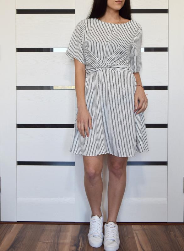Платье в полоску primark {новое, с биркой} - Фото 2