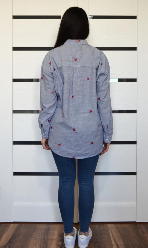 Рубашка с вышивкой f&f - Фото 3