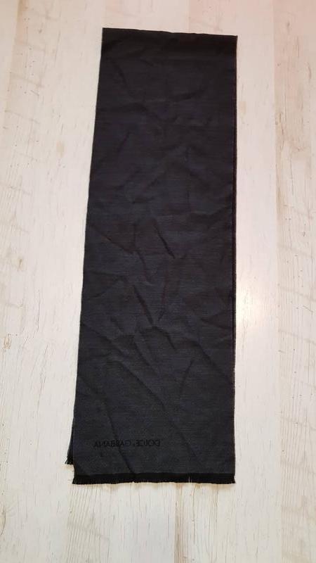 Мужской кашемировый шарф dolce & gabbana оригинал - Фото 3