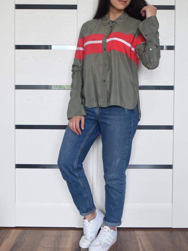 Шелковая блузка - Фото 2