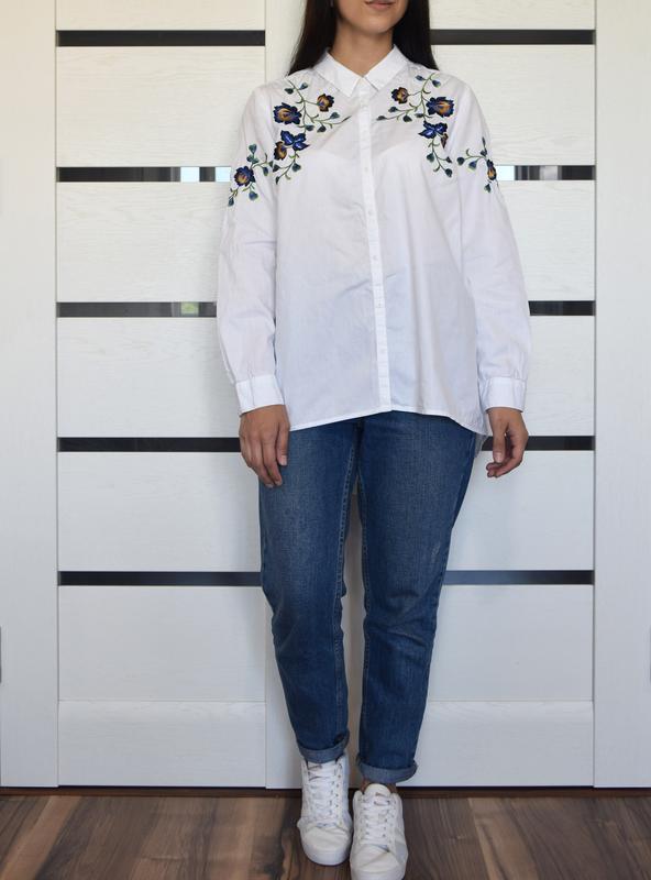 Рубашка с вышивкой george - Фото 4