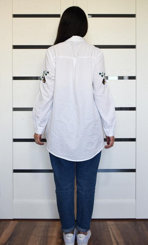 Рубашка с вышивкой george - Фото 5