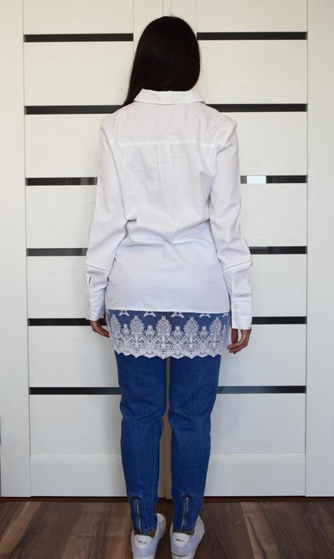 Блузка с кружевом next - Фото 3