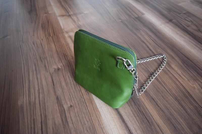 Кожаная сумка vera pelle - Фото 2