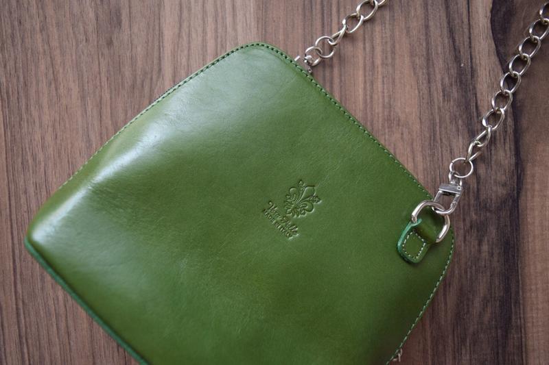 Кожаная сумка vera pelle - Фото 3