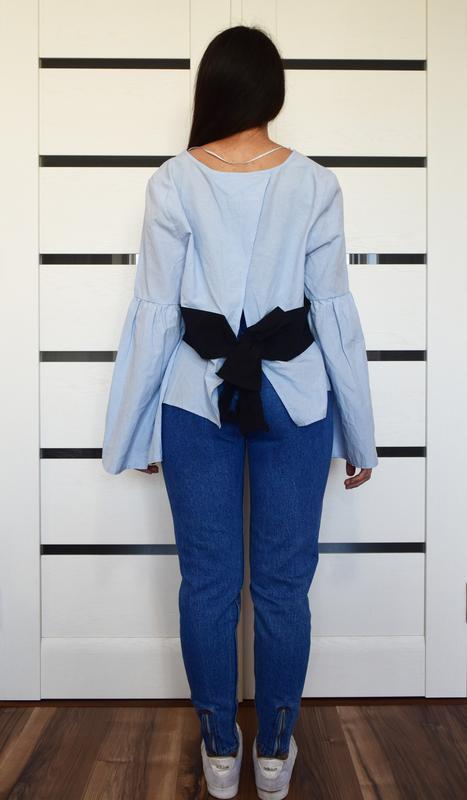 Блузка с красивой спинкой atm - Фото 3