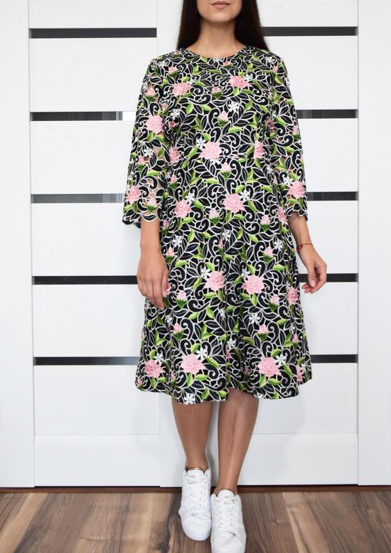 Платье с вышивкой (новое, с биркой) kaliko london