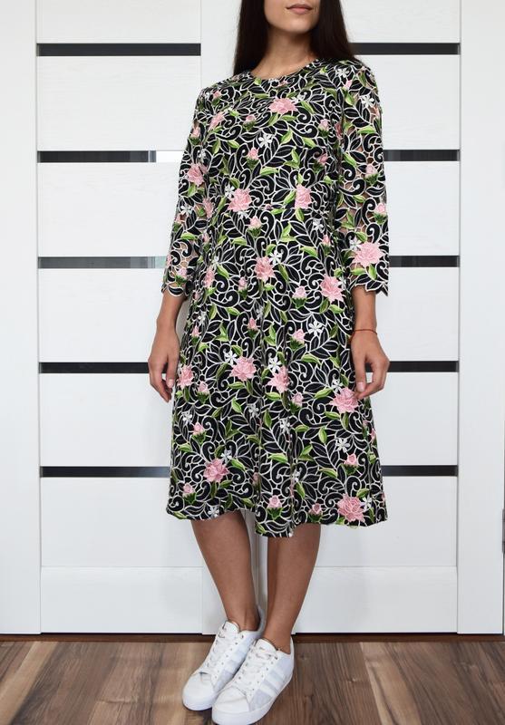 Платье с вышивкой (новое, с биркой) kaliko london - Фото 2