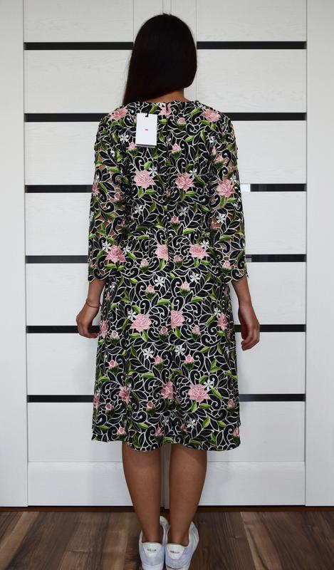 Платье с вышивкой (новое, с биркой) kaliko london - Фото 3