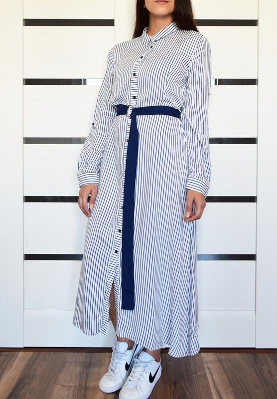 Платье в полоску primark - Фото 2