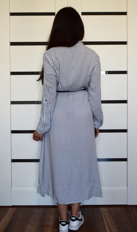 Платье в полоску primark - Фото 3
