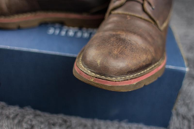 Мужские, кожаные ботинки clarks. демисезонные. - Фото 6