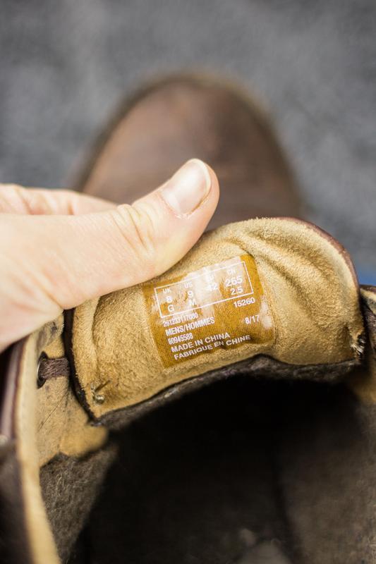 Мужские, кожаные ботинки clarks. демисезонные. - Фото 7