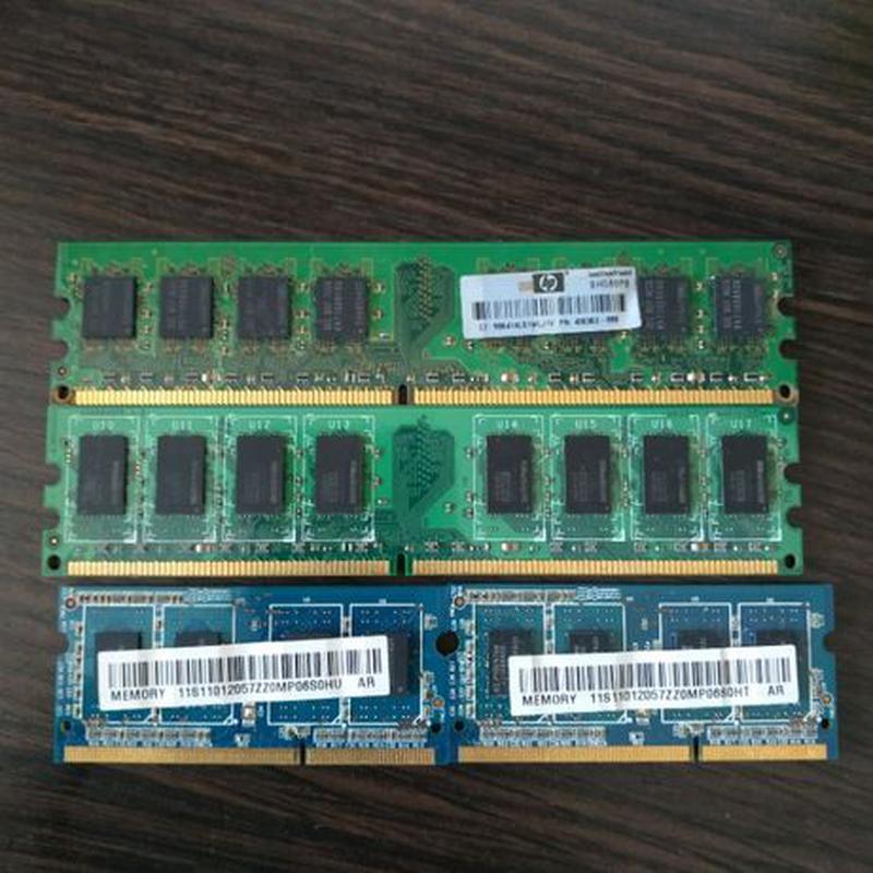 Оперативная память для ПК та ноутбука ddr2/ ddr3 - Фото 2