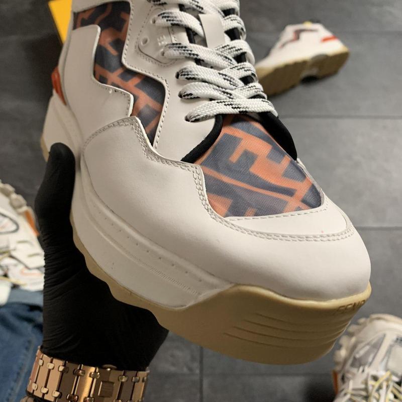 Ботинки Fendi Beige - Фото 5