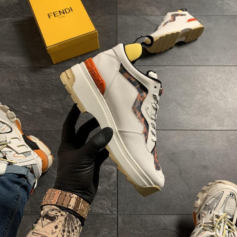 Ботинки Fendi Beige - Фото 9