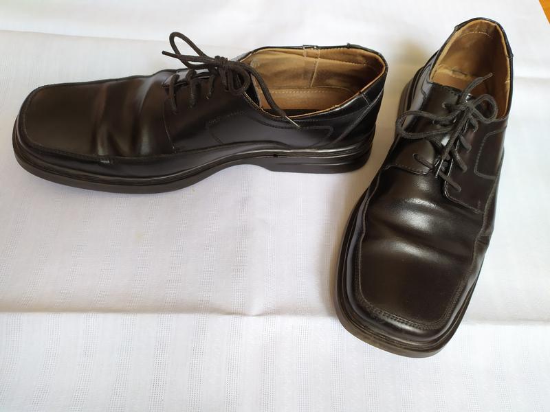 Туфли кожаные/туфлі шкіряні - Фото 2