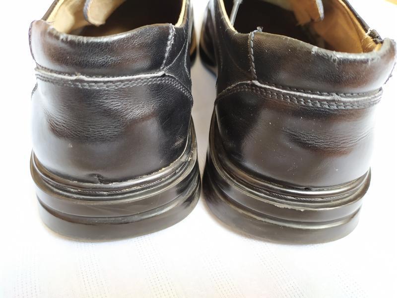 Туфли кожаные/туфлі шкіряні - Фото 4