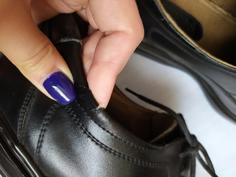 Туфли кожаные/туфлі шкіряні - Фото 7