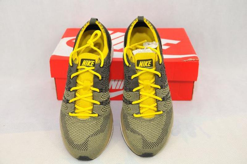 37.5р Nike Flyknit Trainer Cargo оригинал женские кроссовки AH... - Фото 4