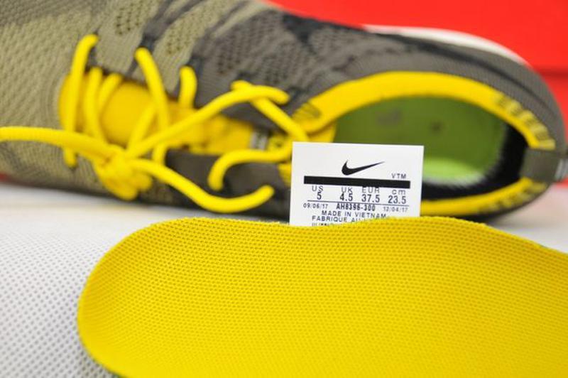 37.5р Nike Flyknit Trainer Cargo оригинал женские кроссовки AH... - Фото 7