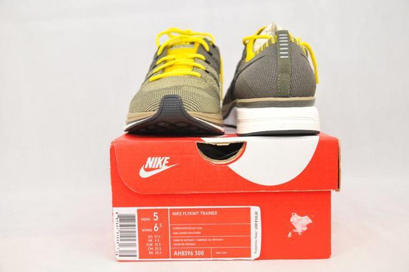 37.5р Nike Flyknit Trainer Cargo оригинал женские кроссовки AH... - Фото 8