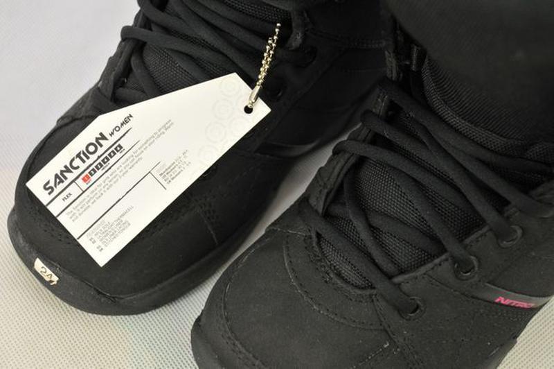 37р, Nitro Sanction женские ботинки для сноуборда, черевики va... - Фото 5