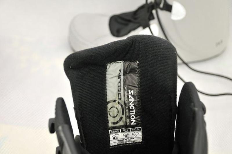 37р, Nitro Sanction женские ботинки для сноуборда, черевики va... - Фото 7