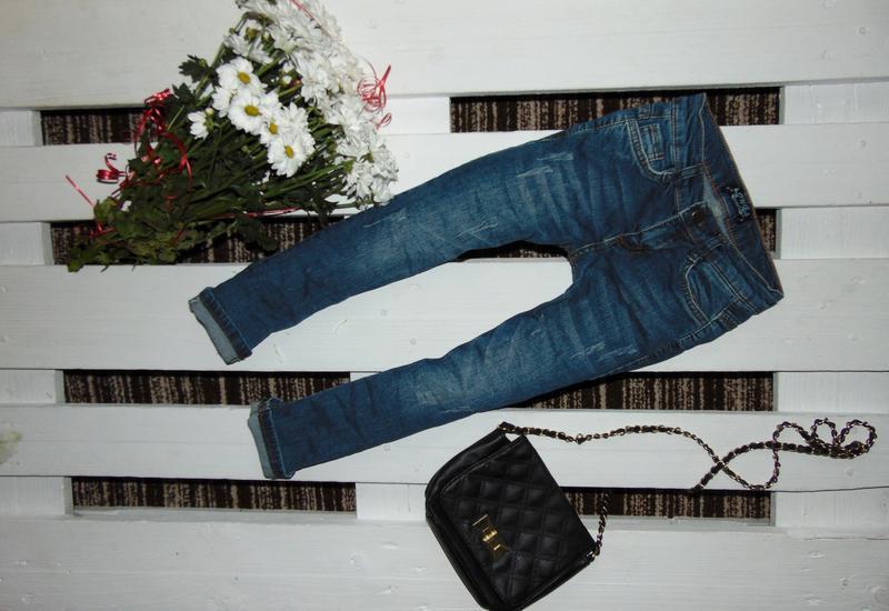 Стильні стрейчеві джинсулі junior ріст 116