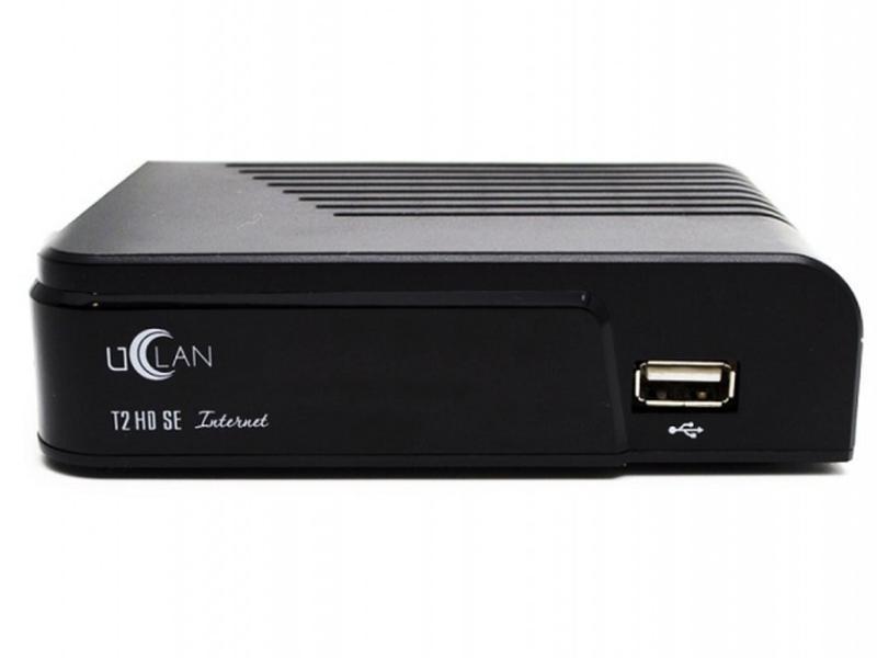 T2 телевизионная приставка uClan T2 HD SE Internet