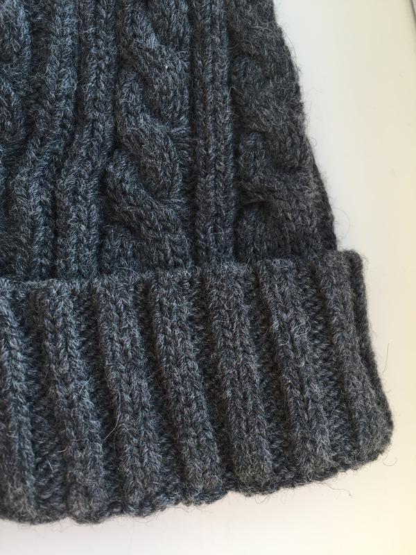 Качественная шапка для девочки c&a, шерстяная - Фото 2