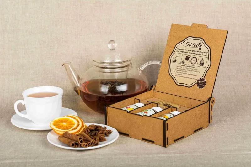 Подарочный набор чая. Подарок бабушке на день рождения, 8 марта. - Фото 2