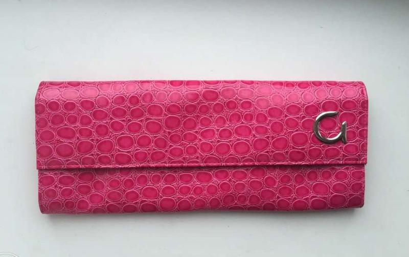 Розовый клатч/ сумка,  новый