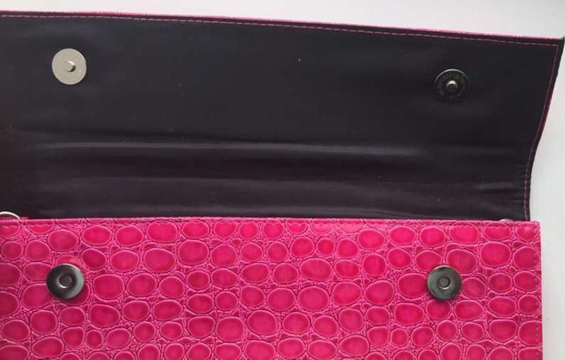Розовый клатч/ сумка,  новый - Фото 2