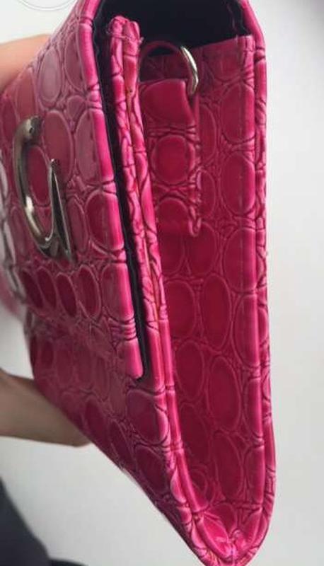 Розовый клатч/ сумка,  новый - Фото 3