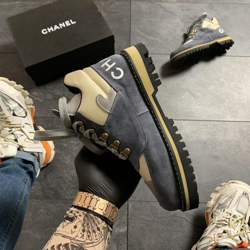 Chanel grey beige . - Фото 4
