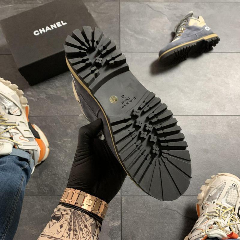 Chanel grey beige . - Фото 10