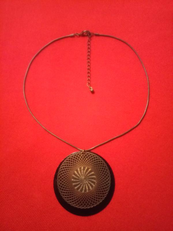 Магический круг украшение на шею